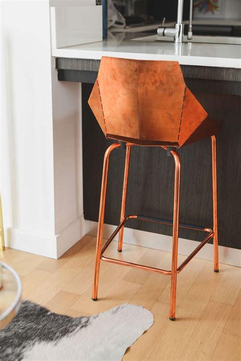 Ideas For Copper Bar Stools Design