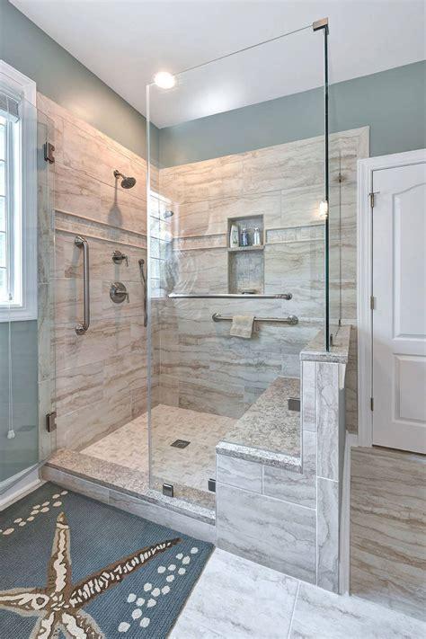Ideas For Doorless Shower Designs