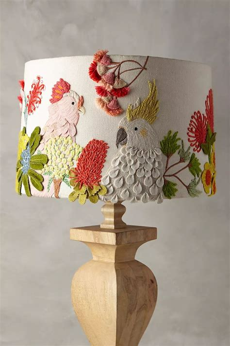 Ideas For Embroidered Lamp Shade