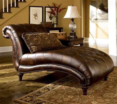 Ideas For Leather Chaise Lounge Design