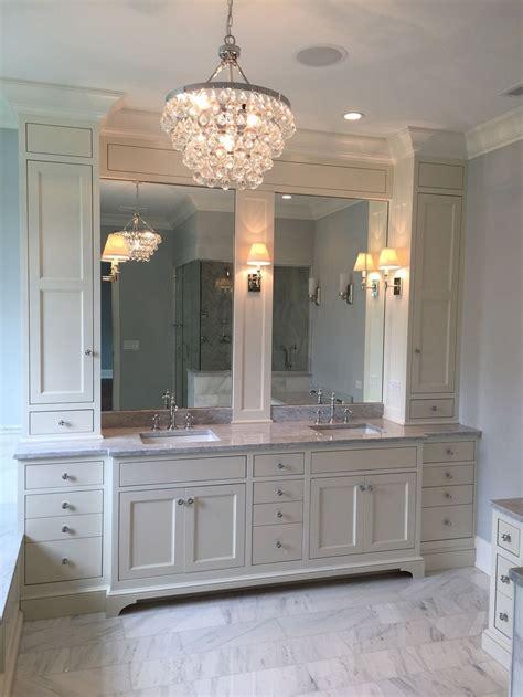 Ideas For Narrow Bathroom Vanities Design