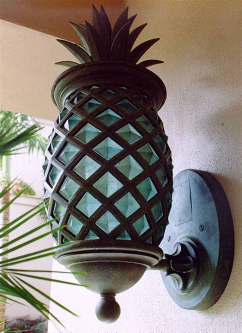 Ideas For Pineapple Outdoor Lights Design