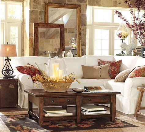 Ideas For Pottery Barn Family Room Design