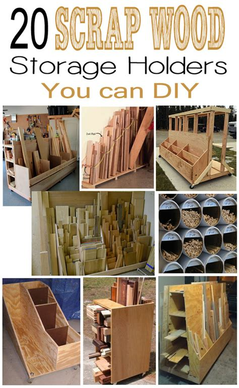 Ideas for storing scrap wood Image