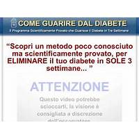 Il programma scientificamente provato per guarire dal diabete coupon