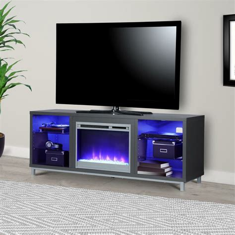 "Ilyse TV Stand for TVs up to 70"" with Fireplace"