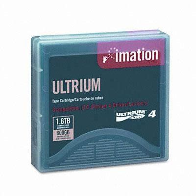 imation 1/2 inch Tape Tera Angstrom Ultrium LTO Data Cartridge - 1/2quot; Ultrium LTO-4 Cartridge, 2600ft, 800GB Native/1.6TB Compressed Capacity