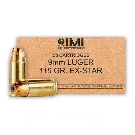 Imi 9mm Jhp