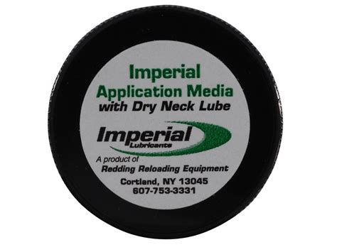 Imperial Dry Neck Lube Application Media 1oz