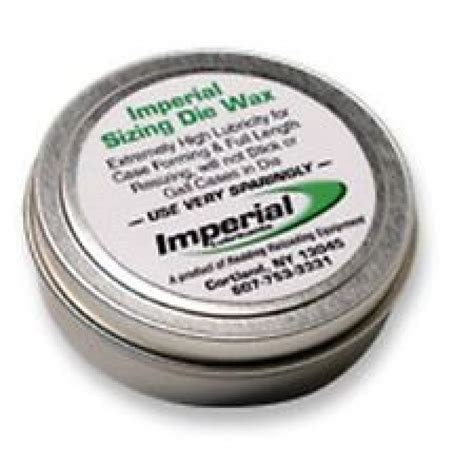 Imperial Sizing Die Wax 2 Oz - Titanreloading Com