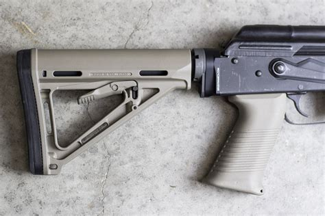 Improved AK Rifle Dynamics AK To M4 Stock Adapter
