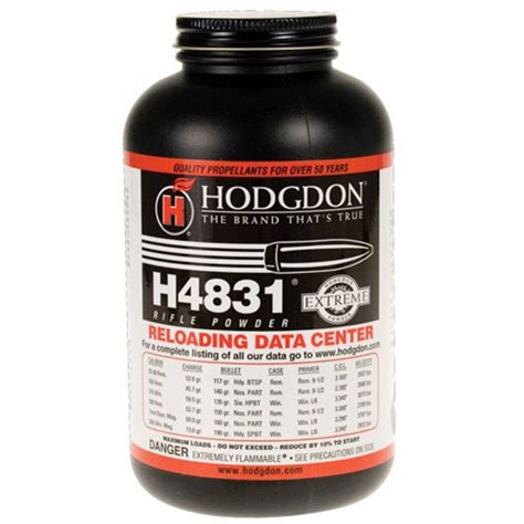 Imr 4831 Vs H4831 - Shooters Forum