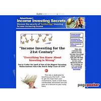 Income investing secrets system online coupon