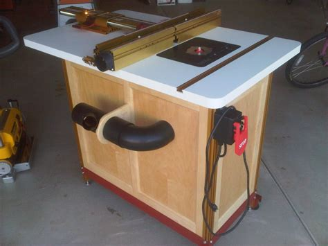 Incra router table cabinet plans Image