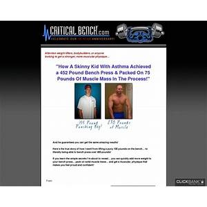 Guide to increase bench press program from critical bench