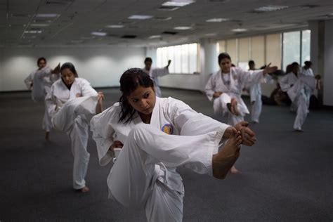 India Today 2013 Women Karate Self Defense