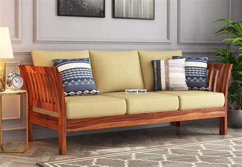 Indian Wooden Sofa Set