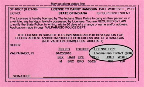 Indiana License To Carry Handgun Renewal And Legal Age To Carry A Handgun In Missouri