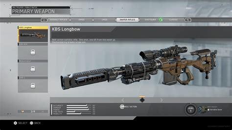 Infinite Warfare Sniper Rifles