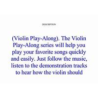 Innovative violin video play alongs tips