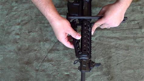 Installing A Troy Quad Rail Vertical Grip On An AR-15