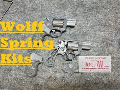 Installing A Wolff Spring Kit On A Taurus Model 85