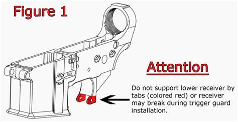 Installing Trigger Guard - Building Your AR-15 - CheaperThanDirt Com