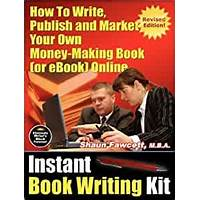 Instant book writing kit promotional codes