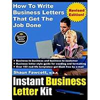 Instant business letter kit secret code