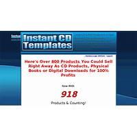 Cash back for instant cd templates