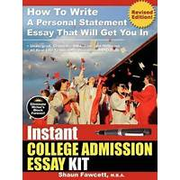 Coupon for instant college admission essay kit