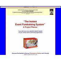 Cheapest instant event fundraising system