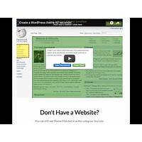 Instant wordpess theme to match your existing website design! free tutorials