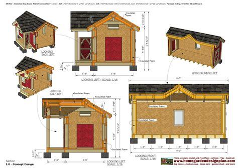 Insulated dog house plans pdf Image