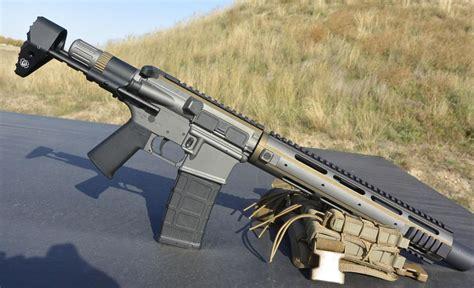 Integrally Suppressed 300 Blackout Sbr Upper
