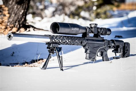 Integrally Suppressed Ruger Precision Rifle