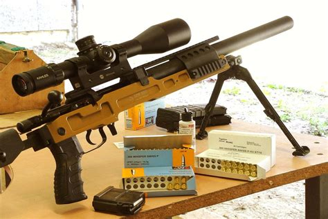 Integrally Suppressed Sniper Rifles