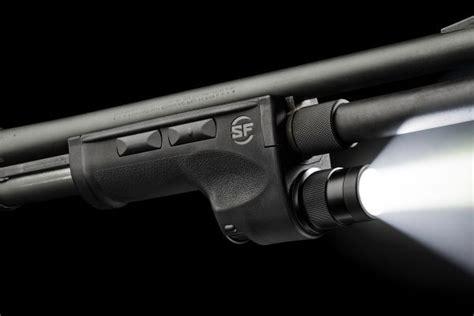 Integrated Light On Pump Action Shotgun