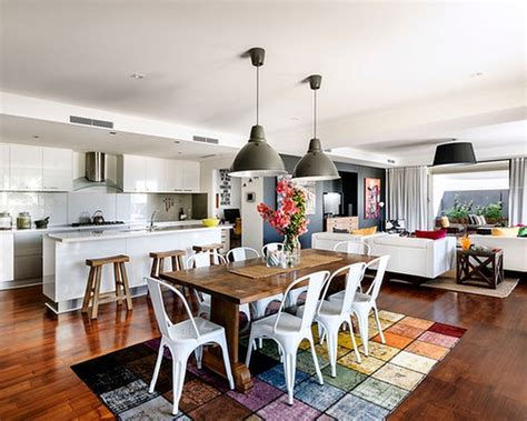 Interior Design Ideas For Kitchen And Living Room