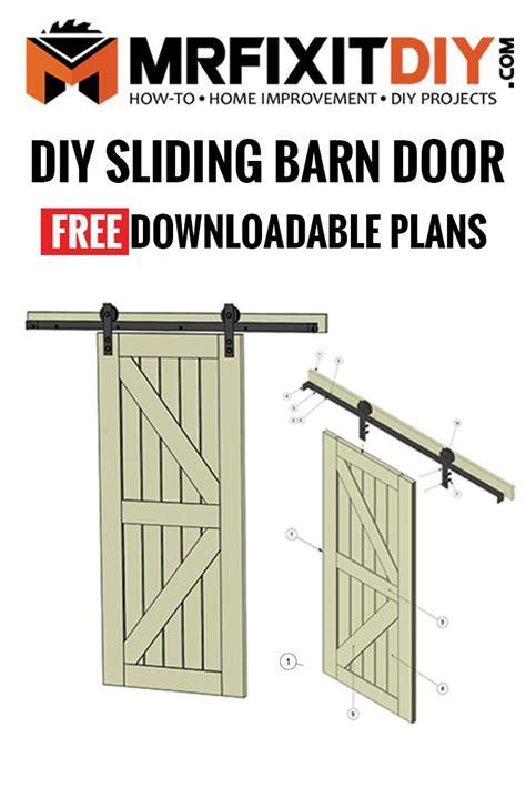 interior sliding barn door plans.aspx Image