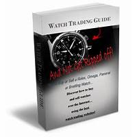 Internet watch trading guide for expensive wristwatches guide