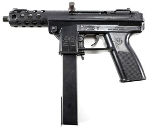 Intratec 9mm Machine Pistol