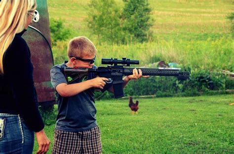 Introducing A Kid To 22 Rifle