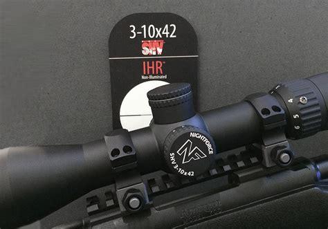 Introducing The Nightforce SHV 3-10x42 Riflescope