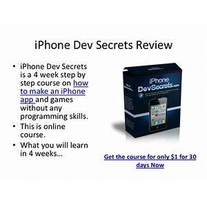 Iphone dev secrets coupon code