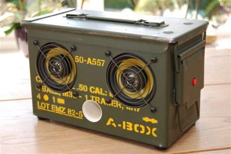 Ipod Ammo Box Speakers