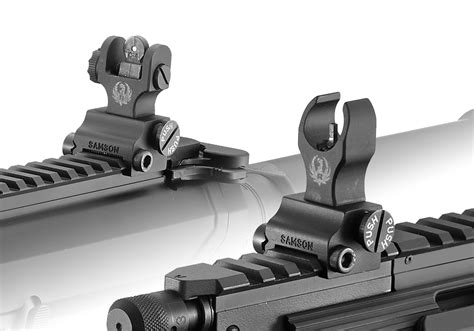 Iron Sights For Ruger Precision Rifle