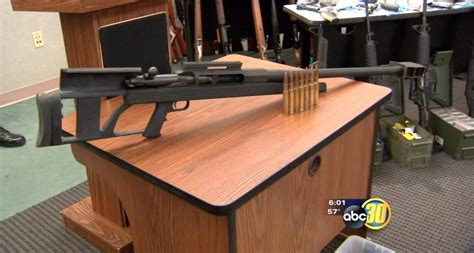 Is A 50 Caliber Rifle Legal To Own In California