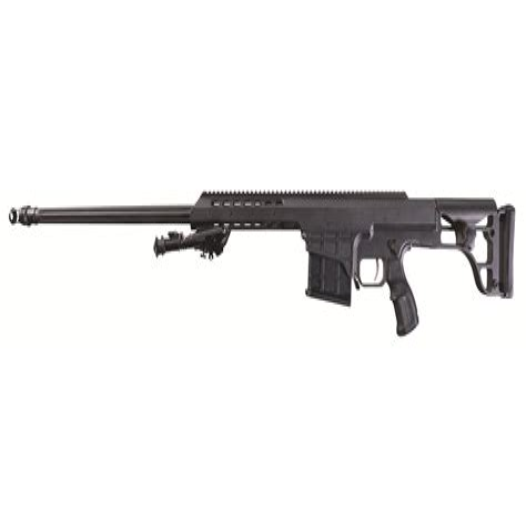 Is Barett Rifle Bolt Action Or Semi Auto