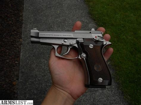 Beretta-Question Is Beretta 84fs Nickel Plated Or Stainless Steel.